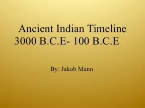 ancient indian timeline