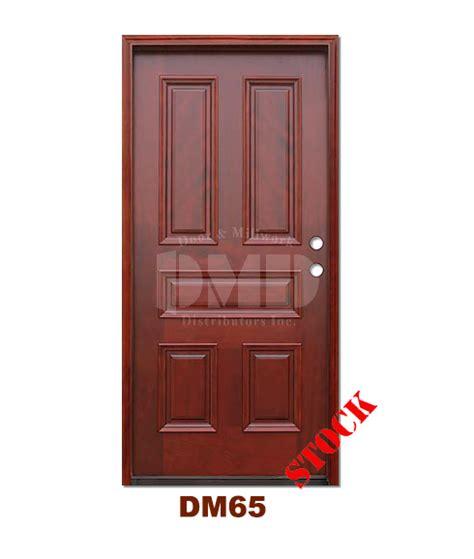 Mahogany Exterior Doors Wholesale Dm65 5 Panel Contemporary Exterior Wood Mahogany Door Door And Millwork Distributors Inc