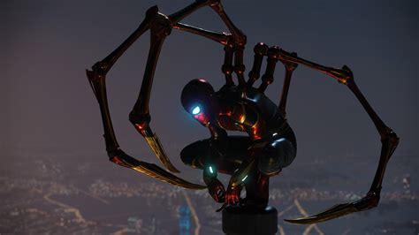 wallpaper iron spider spider man creative graphics
