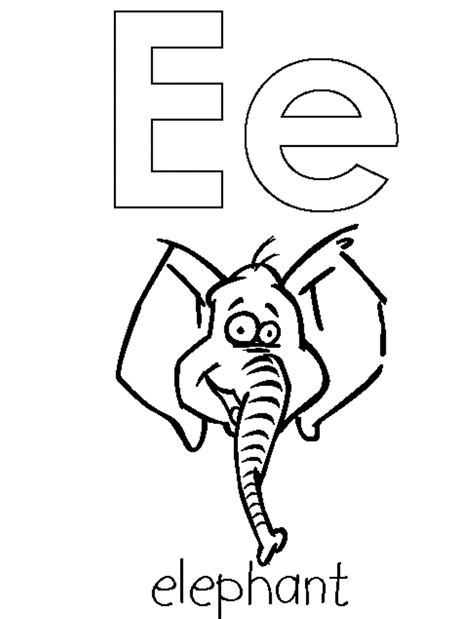 e coloring pages preschool free letter e printable coloring pages preschool