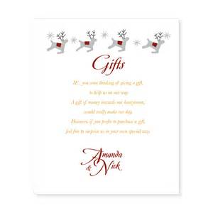 wedding invitation wording for gift cards gift list wording etiquetteinki pinki weddings designer