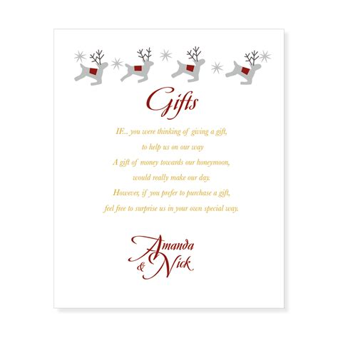 Wedding Invitations Gifts by Gift List Wording Etiquetteinki Pinki Weddings Designer