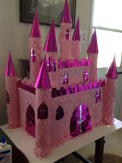 Pinata Princess castle princess pinata made for my birthday