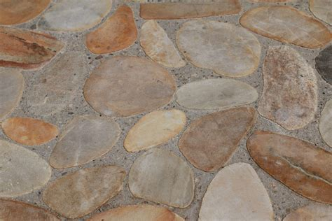 Flooring: Pebble Flooring For Environmentally Safe And