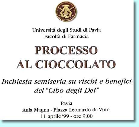 chococlub processo al cioccolato