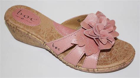 born flower sandals s shoes b o c born milana wedge slide sandals flower