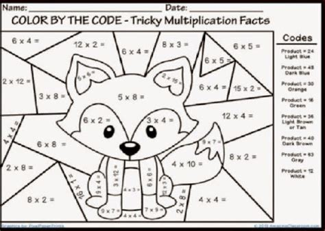 Free 4th Grade Math Coloring Pages Math Coloring Pages Printable