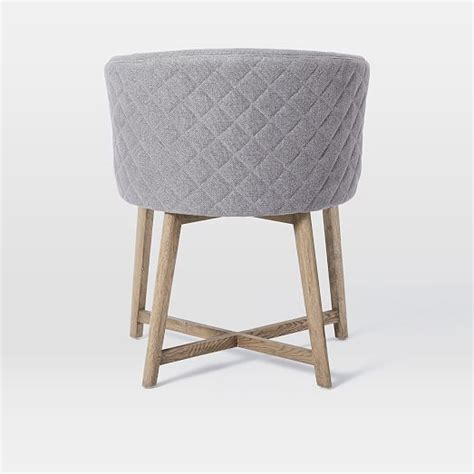 Tub Dining Chairs Quilted Tub Dining Chair West Elm
