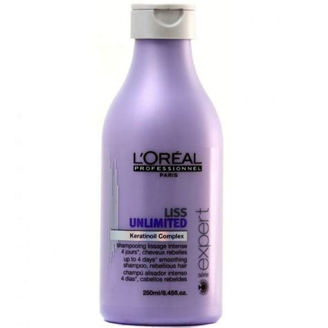 Loreal Keratin l oreal liss unlimited shoo smoothing shoo with