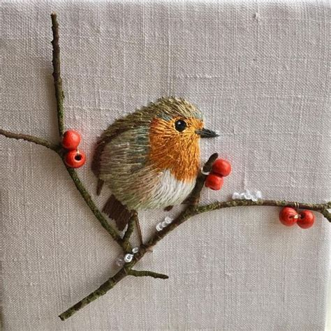 embroidery bird best 25 bird embroidery ideas on embroidery