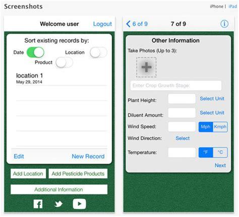of nebraska lincoln application unl releases perk 2 0 pesticide recordkeeping app