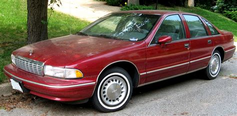 how things work cars 1994 chevrolet caprice parking system file 93 96 chevrolet caprice sedan jpg wikipedia