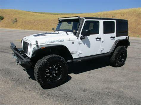 jeep wrangler white 4 door 2016 custom 2016 jeep wrangler unlimited rubicon automatic lift