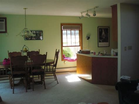 Dining Room With Green Accent Wall Information About Rate My Space Questions For Hgtv