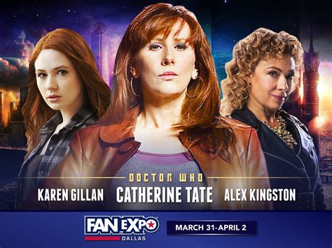 dallas fan expo 2018 catherine tate to make rare convention appearance at fan
