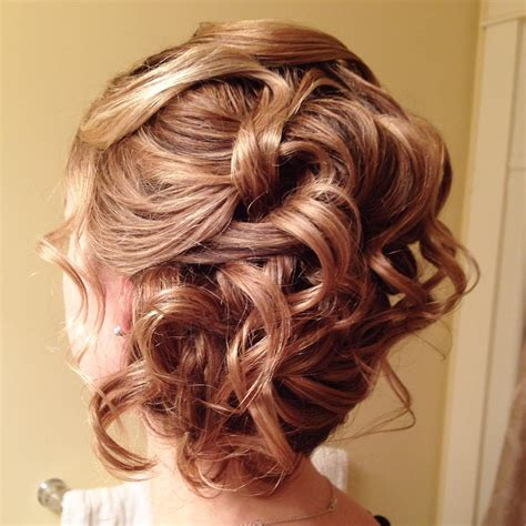 Simple Curly Hairstyles by 27 Updos For Curly Hair Designs Ideas Hairstyles