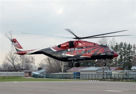 Design A Cabin by Mi 38 With Russian Tv7 117v Engines Makes First Flight