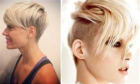 15 pixie cuts with shaved side pixie cut 2015 15 very cool shaved pixie haircuts crazyforus