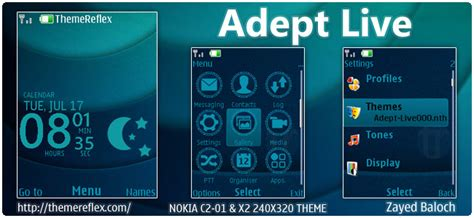 Live Themes Download For Nokia X2 | adept live theme for nokia x2 00 x3 c2 01 240 215 320