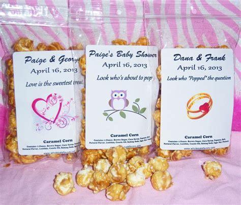 Wholesale Favors Inc announces new caramel popcorn baby shower favor    Wholesale Favors Inc