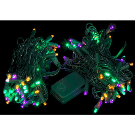 chasing led lights led chaser mardi gras lights 105 light 08499
