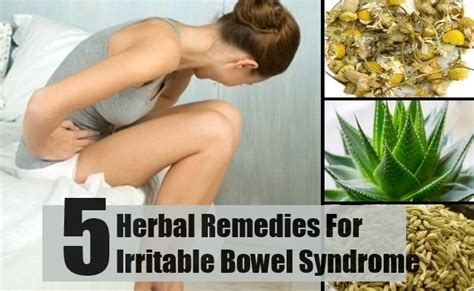 5 herbal remedies for irritable bowel how to