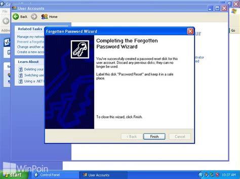 membuat xp autostart di windows cara membuat reset password disk di windows xp