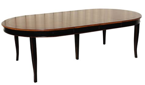 oval french country extension dining table mortise tenon