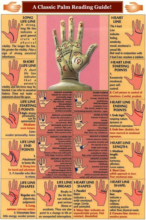 Palm Reading Lines Palmistry Discover Reading Palm Lines