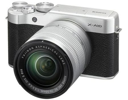 Fujifilm X A10 Silver price review and buy fujifilm x a10 24 3 mp mirrorless digital with xc 16 50mm f3 5 5