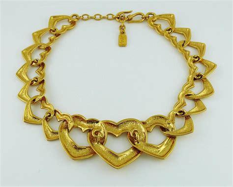 Ay Slvintage Set yves laurent ysl vintage necklace and bracelet