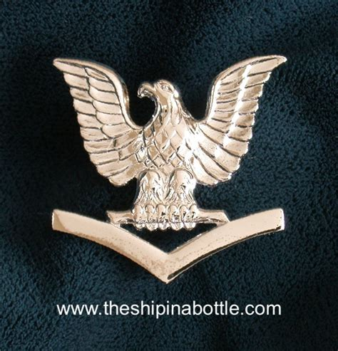 Petty Officer 3rd Class by Authentic Us Navy Hat And Cap Devices Enlisted From