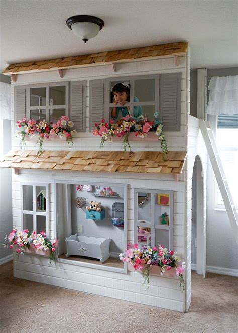 bunk bed with play area underneath 1000 ideas about loft beds on lofted