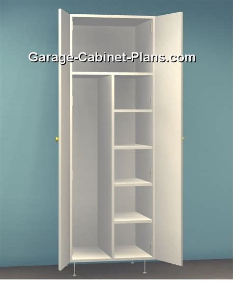 wood utility cabinet utility cabinet plans 24 inch broom closet garage
