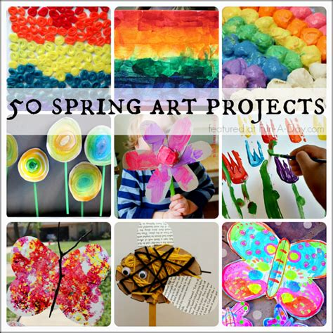 absolutely beautiful spring art projects  kids