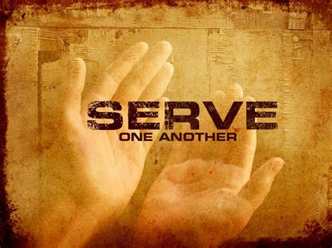 themes about serving god serving at cac christ alone church