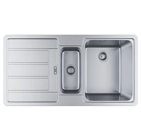 where are franke sinks made franke hydros hdx 654 stainless steel 1 5 bowl kitchen