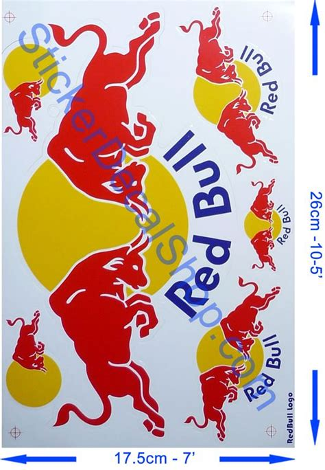 Stickers Red Bull Surf by Red Bull Stickers And Red On Pinterest