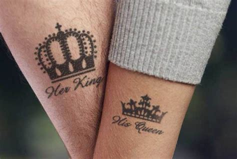 queen tattoo ideas 30 king and queen tattoos tattoofanblog