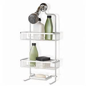 Bath Shower Caddy Org Neverrust Shower Caddy Bed Bath Amp Beyond