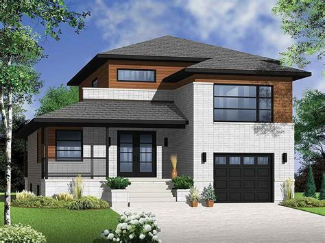 House Plans Narrow Lot With View by Home Remodeling House Plans Narrow Lot With View Picture