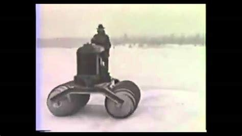 1929 fordson snow machine concept video wimpcom fordson snowmobile 1929 concept reel youtube