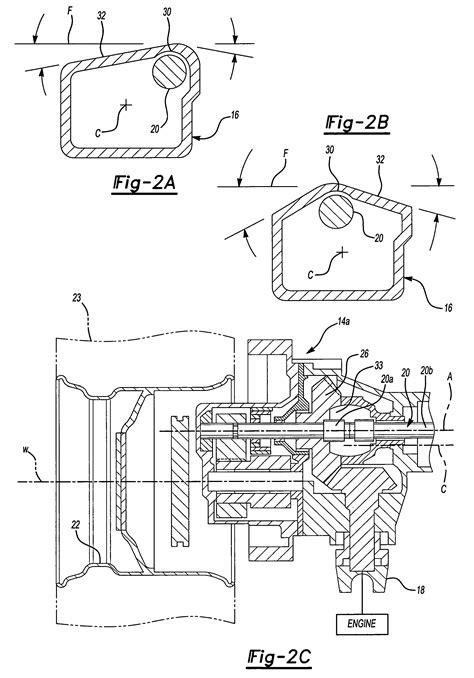 Design Portal Frame Exle | patent us7364528 inverted portal axle configuration for