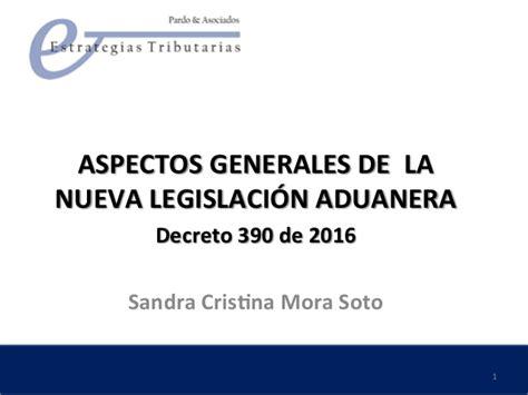decreto 2423 de 2016 decreto 390 polfa reforma aduanera marzo 2016