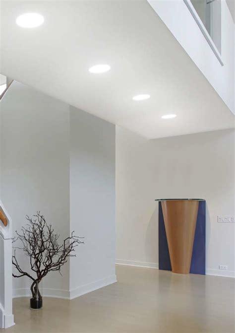 illuminazione a filo gesso tondo a filo led 6watt illuminotecnica led