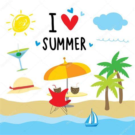 imagenes animadas vacaciones playa ilustraci 243 n de vector de dibujos animados de vacaciones