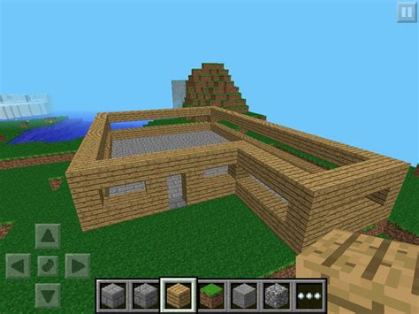 How To Make A Garden In Minecraft Pocket Edition The