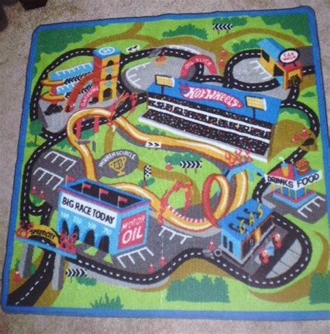 wheels rug free new play mat rug wheels other toys hobbies listia auctions for free stuff