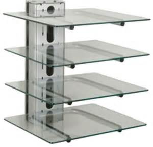 wall mounted shelves for electronics peerless pm610s four component electronics tower