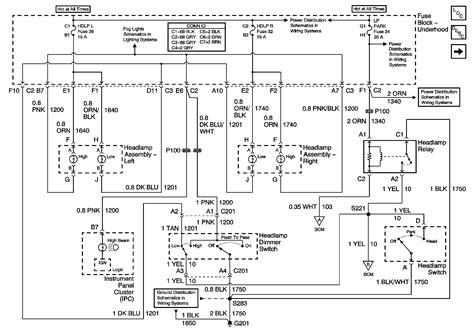 2000 buick century headlight wiring diagram wiring